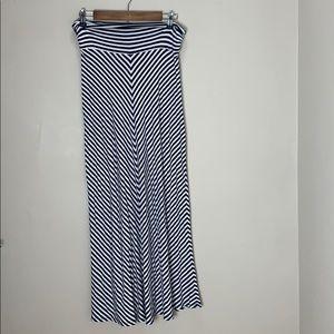 Meona striped maxi skirt
